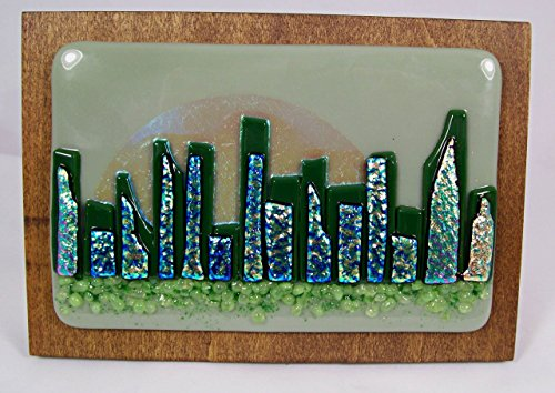 Fused Glass Art - WS106 - Glasses City Chic