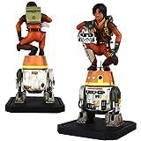 Star Wars Rebels Ezra and Chopper Maquette Statue