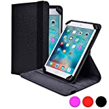 Kobo Arc 7 / 7 HD folio case, COOPER INFINITE S360 Business School Travel Carrying Portfolio Case Protective Cover Folio with Built-in 360 Rotating Stand for Kobo Arc 7 / 7 HD (Black)