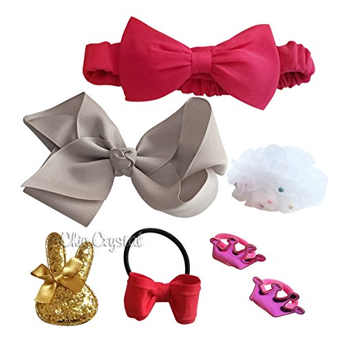 Audrey Hair accessory Set - Crystal Audrey