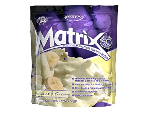 Syntrax Matrix Sustained Release Protein Powder - 9 Flavors and 3 Sizes! (Sustained 6 Powder Release Protein)
