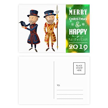 Christmas Cards For Soldiers 2019 Amazon.: Britain UK London Royal Soldiers 2019 New Year