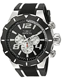 Invicta Men's 21429 S1 Rally Analog Display Quartz Black Watch