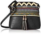 Lavie Moritz Women's Sling Bag with No (Black)