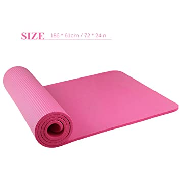 Lixada Yoga Mat - Friendly Eco Non-Slip Yoga Mat Exercise & Fitness Mat,Workout Mat for All Type of Yoga, Pilates and Floor Exercises with Gift ...