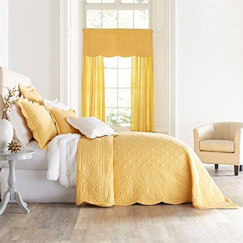 Brylanehome Florence Bedspread (Aspen Gold,King)