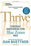 Thrive, Dan Buettner, 1426208189