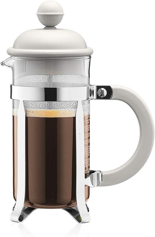 Bodum Cafetera émbolo, Blanco Crema, Centimeters: Amazon.es: Hogar