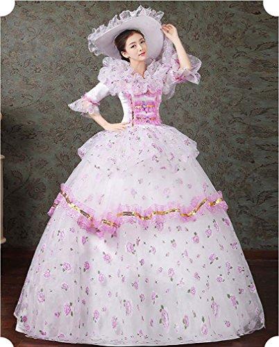 Soojun Robes De Bal D'halloween Cosplay De Robe De Bal Montrer Costume 12