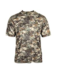 Rocky Outdoor Shirt Mens Stratum Short Sleeve L Venator Camo HW00181