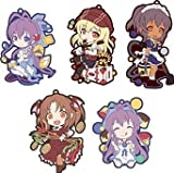 Transfer to Works Collection Gomu'! Nanana's Buried Treasure all five Complete Set Chara