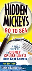 """""""Hidden Mickey Guy"""" Steven Barrett searches all four of the Disney Cruise Line ships for camouflaged images of Mickey Mouse to bring his field guide to maritime """"Hidden Mickeys"""" up-to-date with his latest findings. Four scaven..."""