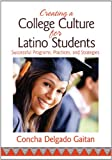 Creating a College Culture for Latino Students : Successful Programs, Practices, and Strategies, Gaitan, Concha Delgado, 1452257701