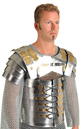 Roman Segmenta Lorica Breastplate In Steel