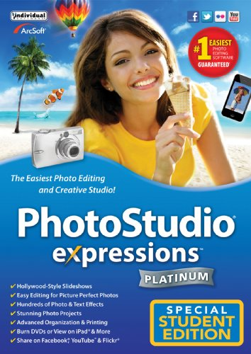 PhotoStudio Expressions Platinum 6 - Academic Version [Download] by Individual Software