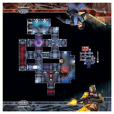 Skirmish Maps - ISB Headquarters : Star Wars Imperial Assault from Fantasy Flight Games