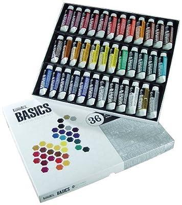 Liquitex BASICS Acrylic Paint Tube 36-Piece Set by Liquitex