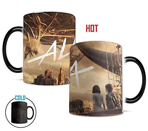 - Alita Color Changing Heat-Sensitve Reactive Ceramic Coffee Mug Battle Angel