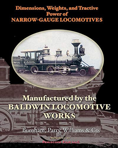 Dimensions, Weights, and Tractive Power of Narrow-Gauge for sale  Delivered anywhere in Canada