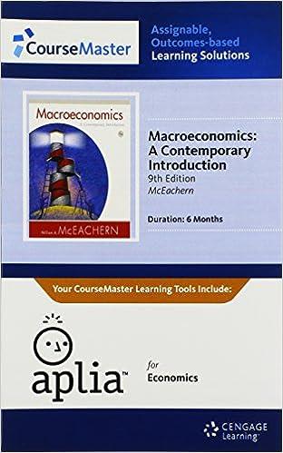 Apliatm, 1 term printed access card for mceachern's macroeconomics.