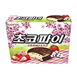 Lotte Choco Pie Strawberry And Cheese 360G