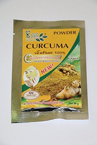 New 100% Curcuma Powder Detox Cover Infront Polish Infront t