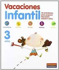 Vacaciónes Santillana, Educación Infantil, 3 años