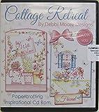 Debbi Moore Designs Cottage Retreat Papercrafting CD Rom (324781)