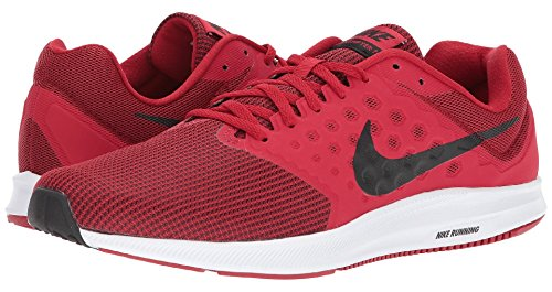 Nike Heren Downshifter 7, Gym Rood / Zwart-wit, 15