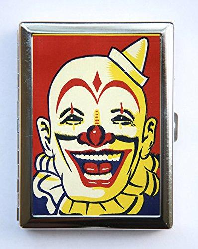 Amazon clown cigarette case wallet business card holder circus clown cigarette case wallet business card holder circus sideshow performers freaks colourmoves
