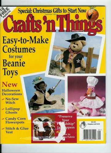 Crafts N Things (September, 1999 Volume 24, No. 10)Easy-to-Make Costumes for Your Beanie Toys, Halloween Decorations, No-Sew Witch, Lollipop Ghosts, Candy Corn Flowerpots, Christmas Gifts to Start Now]()