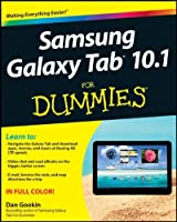 Samsung Galaxy Tab 10.1 For Dummies Front Cover