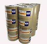 FixtureDisplays 24 Rolls Brown Sealing Tape Carton Packing Box Tape 3''x110Y 2.0Mil 14424-24-FBA