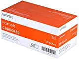 Daxwell Brown Nylon Invisible Hairnets, 22'' (10 Boxes of 144)