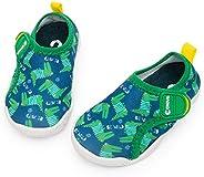 Crova Boys Girls Aquatic Water Shoes Lightweight Quick-Dry Beach Swim Pool Water Park Sandals(Toddler/Little K