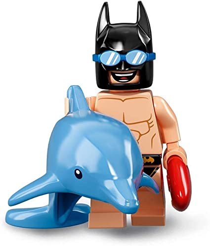 LEGO Batman Movie Minifigure Series 2 Swimsuit Batman 71020 Dolphin NEW /& SEALED