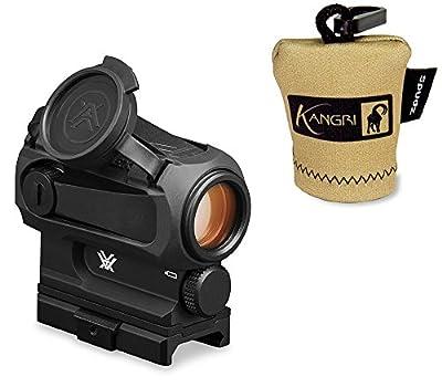 Vortex Optics SPARC AR RED DOT Gun / Rifle Sight (SPC-AR1) AND FREE Kangri Spudz microfiber lens cloth from Vortex Optics