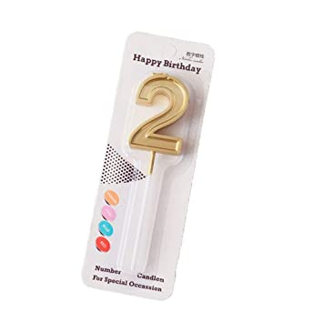 Timesfriend Numbers Cake Toppers Stand Candle Decorations Happy One First 1st 21st 30th 40th 50th