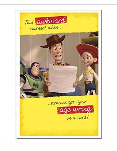 Tarjeta de cumpleaños de Disney Toy Story: Amazon.es ...