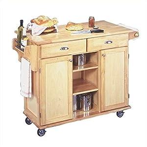 Home Styles 5040-95 Paneled Door Kitchen Cart