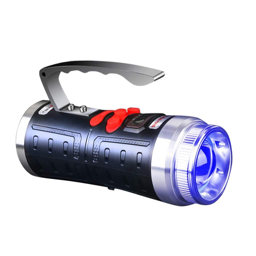 Continuous Licht Fischen, Blaues Licht Wasserdicht IPX6 Nacht Notfall Laternen Langer Schuss Fackel Im Freien Xenon Taschenlampe Long Service Life