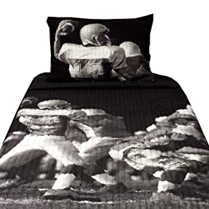Nfl Play Action Play Action Play Action Quilt Bed In The Bag Twin