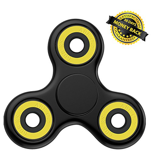 NEW 2017 POKKOP DIRT RESISTANT EDC Tri-Spinner Fidget Toy Smooth Surface Finish Ultra Durable Non-3D printed (Animal That Starts With M)