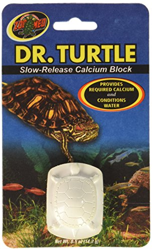 Zoo Med Dr.Turtle Slow-Release Calcium Block (Pack of 5) (Turtle Sulfa Block)