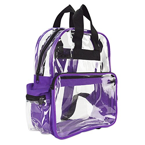 DALIX Backpack Smooth Plastic Purple