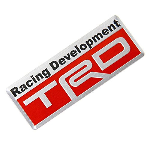 (AUTO-P New Auto Car Styling 3D Racing Development TRD Sticker Emblem Decal for Toyota)