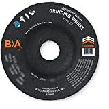 (10) Bullard Abrasives 28467 (4-1/2 x 1/4'') A24N Type 27 Depressed Center Angle Grinding Wheels. Premium Grade. 5/8-11 Arbor. 13300 Rpm. For ferrous metals.