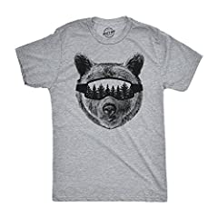This bear is ready for some ski jumpsDon't Sacrifice ComfortAt Crazy Dog T shirts, we've combined what every guy loves in a mens graphic t shirt: a comfortable fit and funny jokes. The Best quality tees, super soft cotton and top of the line ...