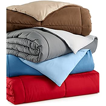 Home Design Down Alternative Color Full Queen Comforter – Castle Home