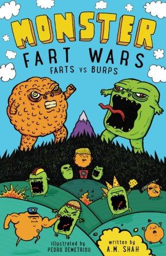 Monster Fart Wars: Farts vs. Burps: Book 1 (Volume 1)